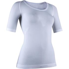UYN Visyon Light UW SS Shirt Women, white/pearl grey